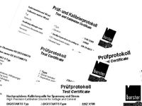 download kalibrierschein burster calibration test certificate prüfprotokoll