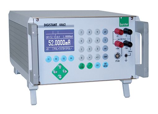 hoch präzision kalibrierquelle spannung strom thermoelemente digistant 4462 burster high precision calibration source voltage current thermocouples