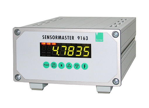 sensormaster digital anzeiger einkanal mehrkanal dms potentiometer normsignal 9163 burster ethernet usb digital indicator single channel multi channel strain gauge gage potentiometer standard signal